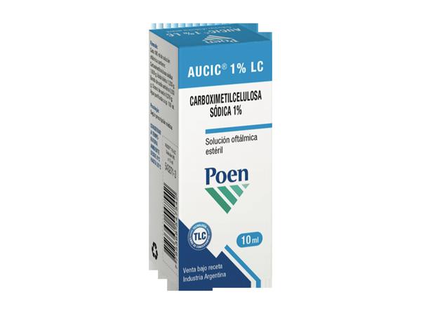 AUCIC® 1% LC Solución oftálmica estéril