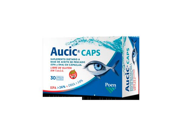 AUCIC® CAPS Cápsulas blandas