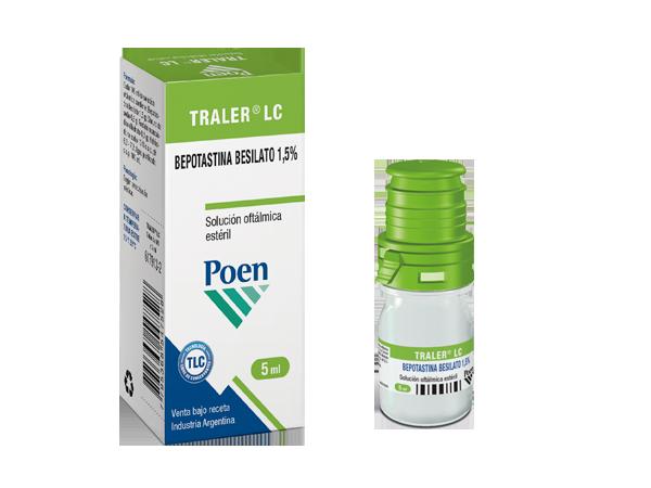 TRALER® LC Solución oftálmica estéril