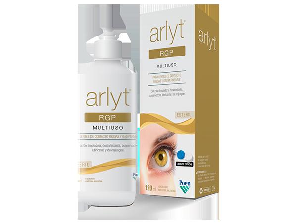 ARLYT® RGP Solución estéril limpiadora, desinfectante